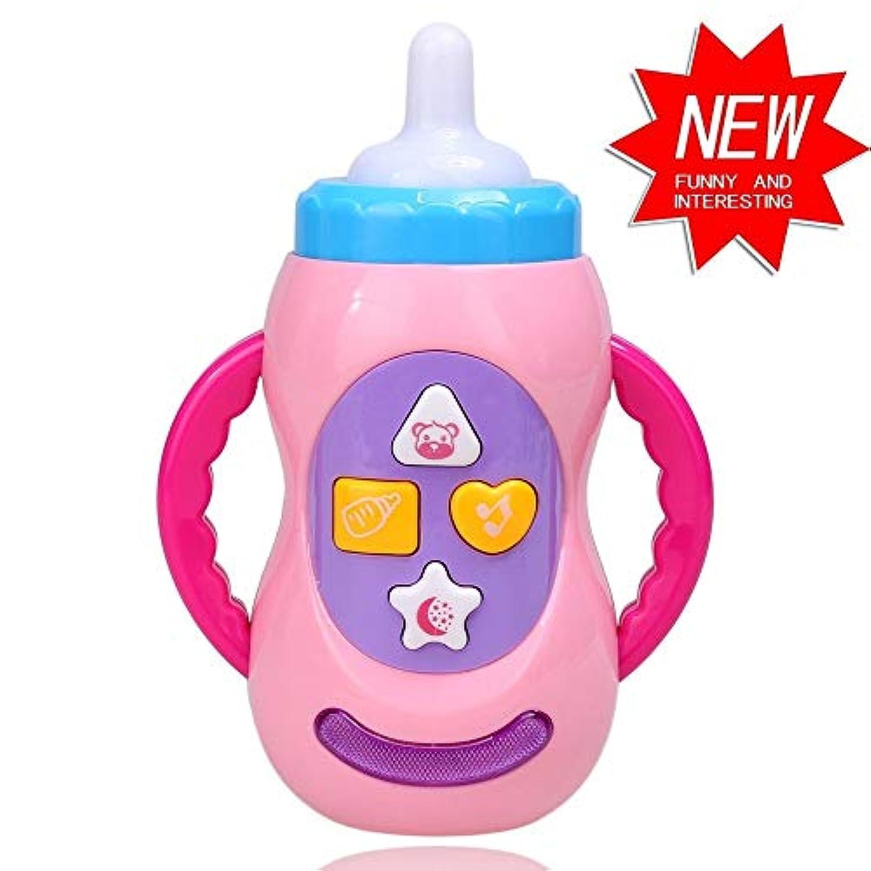 1個。 幼児の音楽と照明の電気おもちゃのボトル形状の教育玩具のための最高の完全な贈り物子