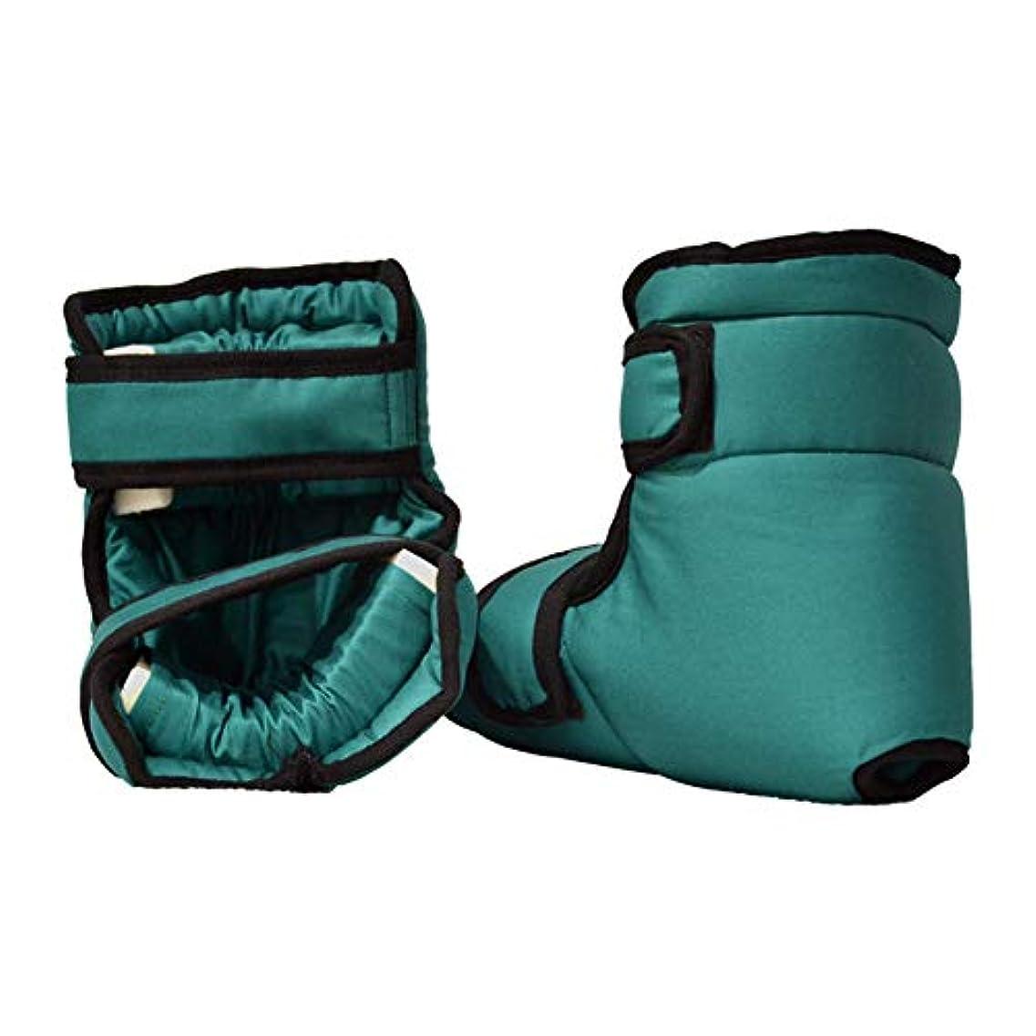 甘やかす引っ張る再発するソフト慰めヒールプロテクター枕、足首サポート枕フットプロテクション、1ペア