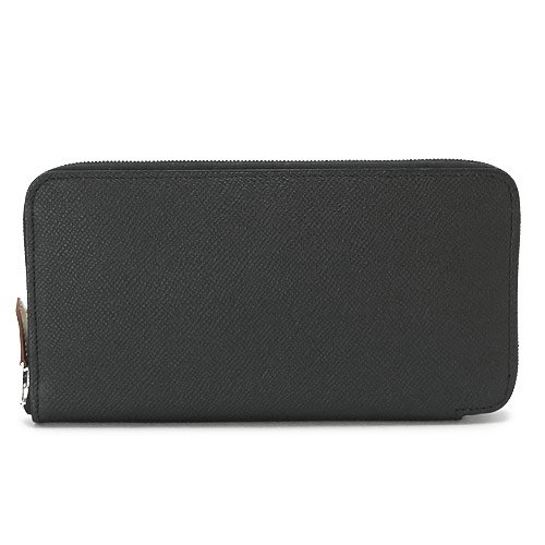 (エルメス)HERMES 長財布 AZAP SILKIN BLACK/HE31-SILKW-BKCAR 財布 ラウンドファスナー シルクイン CARRE AN BUCKLE ブラック [並行輸入品]