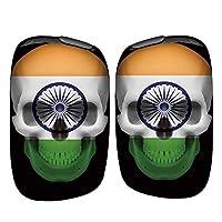 プルームテックエス PloomtechS PloomS 国内生産 日本製 電子タバコ 専用 薄型 ハード スカル ドクロ 国旗柄 087 インド