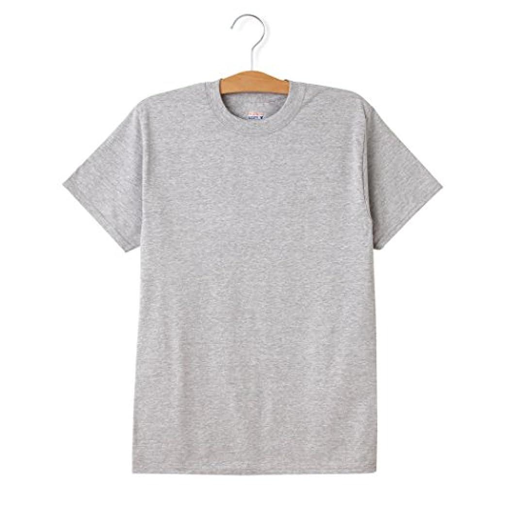 遺体安置所シールピンポイント6.1ozのしっかり生地 丈夫で首回りも洗濯に強い ヘインズ 6.1 メンズ 定番 コットン beefy hanes ビーフィー Tシャツ hanesbeefy