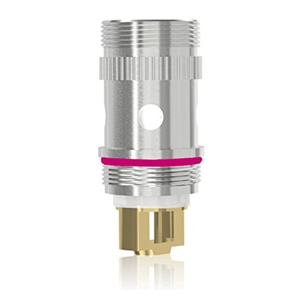 男やもめ対称絶え間ない電子タバコ 交換コイル Eleaf EC head アトマイザーヘッド 5個セット TC/TCR 温度管理機能 MELO 2 /MELO/iJust2対応 コイル(Ti チタン 0.5Ω)