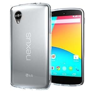 【Homu Homu】Nexus 5 ネクサス5 クリア(透明) TPUケース カバー クリアケース マットケース TPU シリコンケース Nexus5 ケース(63-1)