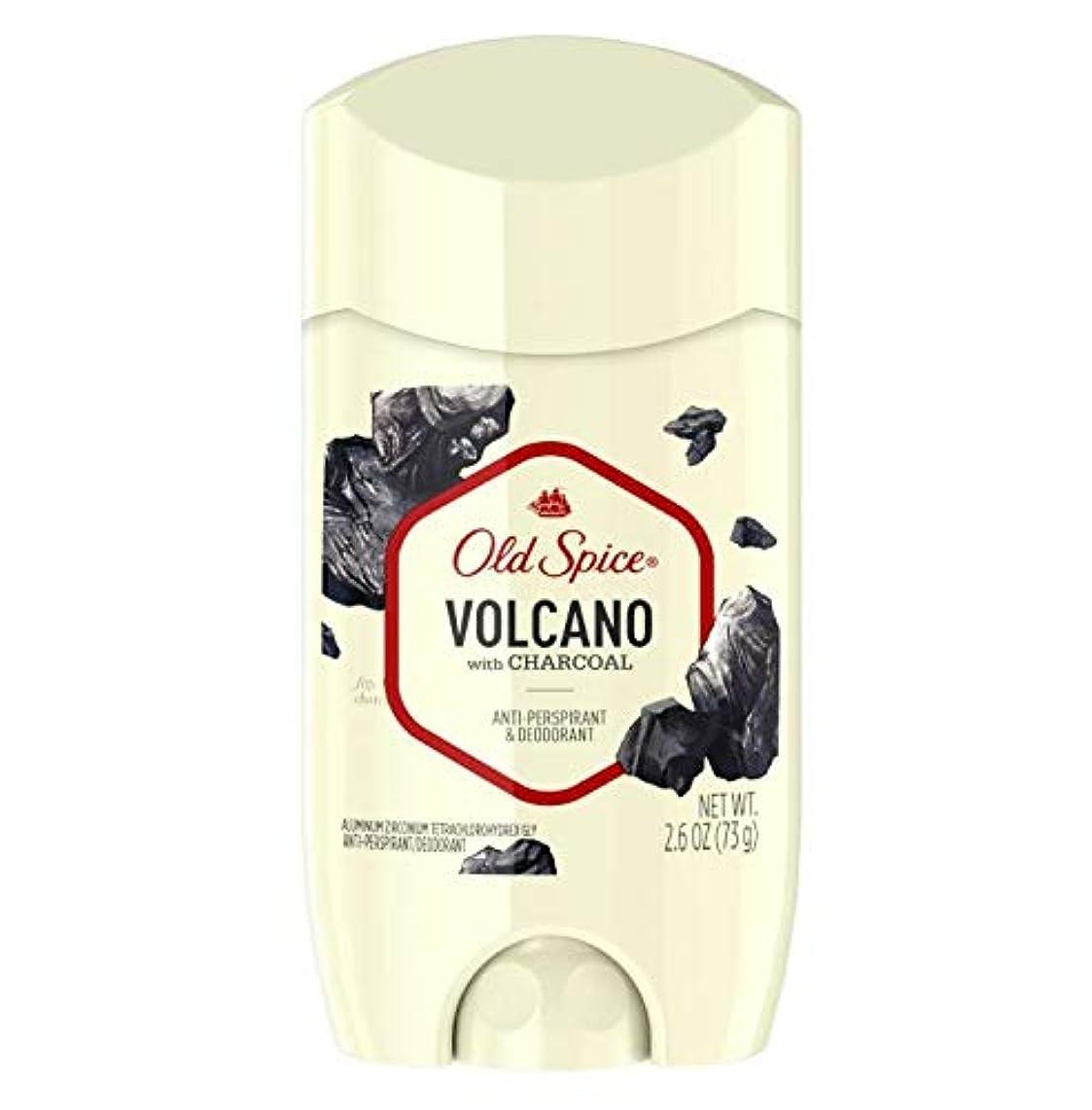 豚形状サービスOld Spice Fresher Collection Volcano Invisible Solid Deodorant - 2.6oz オールドスパイス フレッシャー コレクション ボルケーノ インビジブル ソリッド...