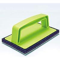 アズマ 玄関掃除用スポンジ TKブラッシングスポンジ・玄関タイル用 15×9×6cm 洗剤なしで汚れスッキリ
