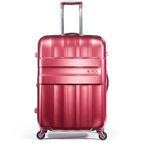 [サムソナイト] Samsonite スーツケース アーメット スピナー66 63L-75L 4.0kg 拡張機能 保証付 S43*19002 60 (バーガンディー)