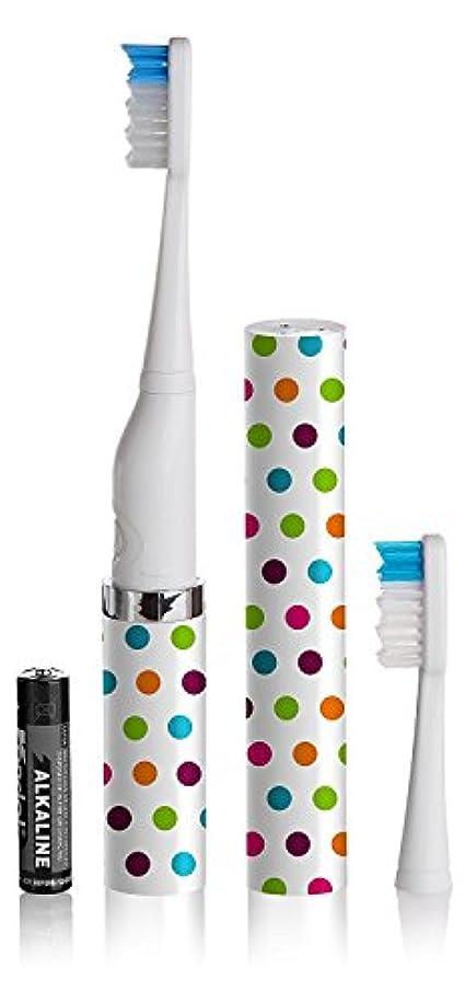 おびえたくぼみ消えるSlim Sonic Toothbrush, Confetti