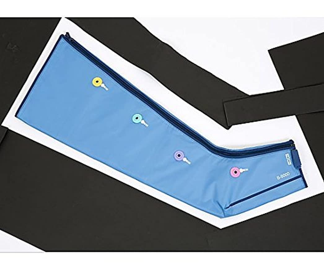 体操両方つぶやきエアマッサージ器[ドクターメドマーR] B-6000 脚用カフ(片脚) /0-6030-21
