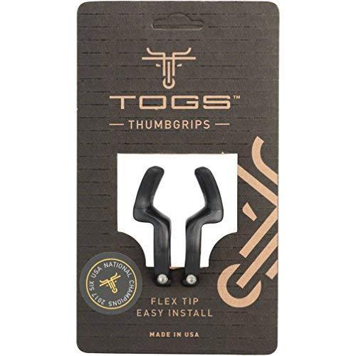 トグス(TOGS) フレックス クローズクランプ 樹脂製 グリップ内側取り付けスティック ブラック