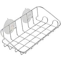 レック S-VT ステンレス シンプルラック (吸盤) スポンジラック