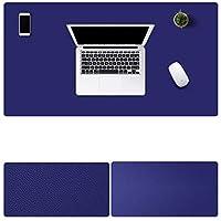 多機能 防水 レザーマウスパッド 大型 キーボード ゲーミング オフィスコンピュータテーブルマット(700 x 350 x 2 mm,17)