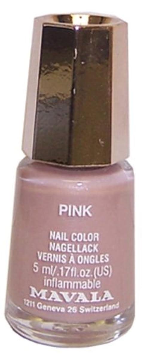 参照する刈り取る失われたMAVALA マヴァラ ネイルカラー 398 ピンク