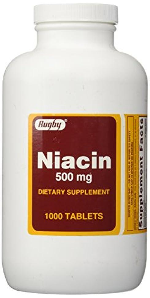 応じる目の前の高いRugby Niacin 500 mg 1000 Tabs by Rugby
