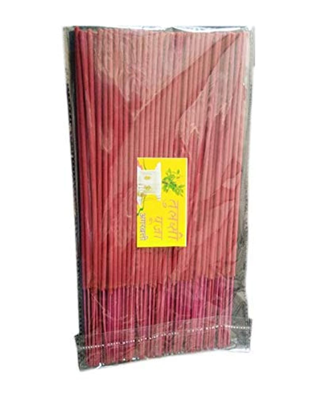 階段蘇生するエッセンスDarshan Tulsi Pooja Incense Sticks/Agarbatti (500 GM Pack)
