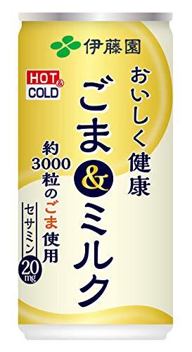 伊藤園 おいしく健康 ごま&ミルク 190g×30本