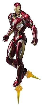 S.H.フィギュアーツ アベンジャーズ アイアンマン マーク45 約155mm ABS&PVC&ダイキャスト製 塗装済み可動フィギュア
