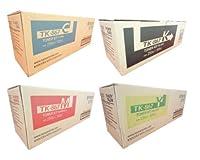 Kyocera TASKalfa 300ciトナーカートリッジセット( OEM )ブラック、シアン、マゼンタ、イエロー