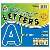 Pacon ( R )自己粘着文字、4で。、ブルー、パックの78