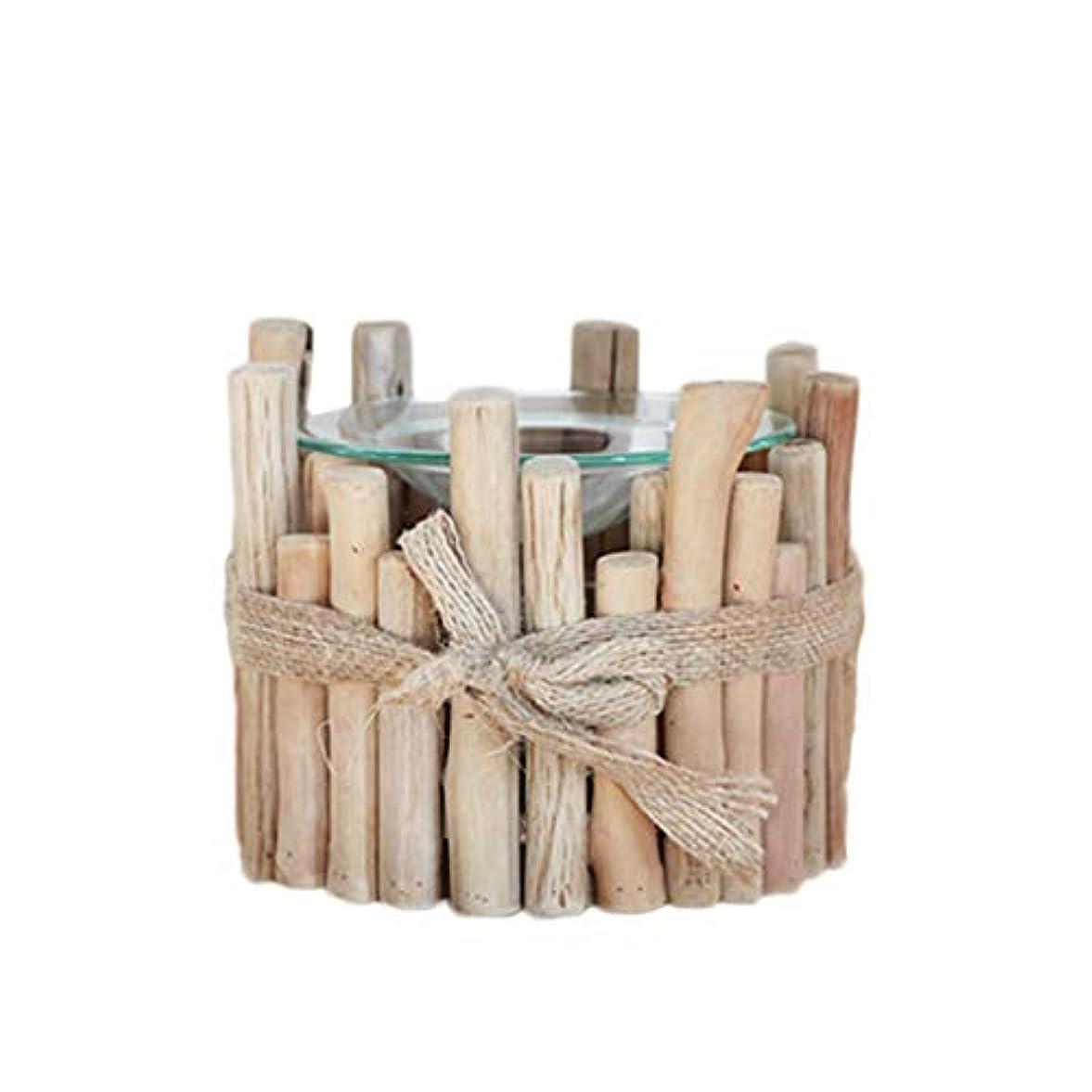 その面白い流暢家庭用木材香ホルダーエッセンシャルオイルアロマ燭台香バーナー寝室アロマセラピー炉香バーナーホルダー 芳香器?アロマバーナー (Color : D)
