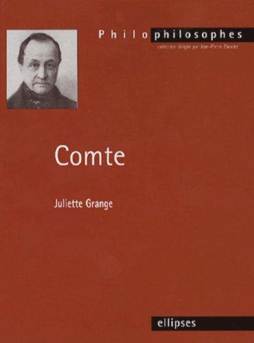 Comte (1798-1857) : Sciences et philosophie