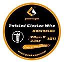 《爆煙》GEEK VAPE Kanthal A1 Twisted Clapton Wire 26ga 2 32ga (10ft) クラプトンワイヤー 電子タバコ VAPE ビルド用