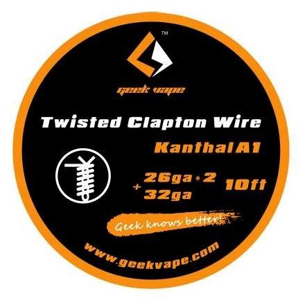 Twisted Clapton Wire 26ga