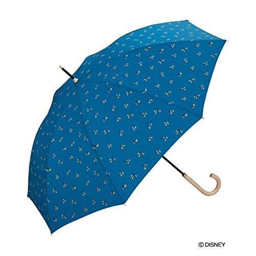 w.p.c(w.p.c) 【長傘】【ディズニー】ミッキーマウス/リトル(雨傘/レディース)【ブルー/55】