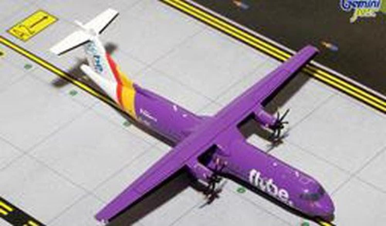 Gemini200 1/200 ATR-72-500 フライビー航空 (Purple Livery) EI-REL 完成品