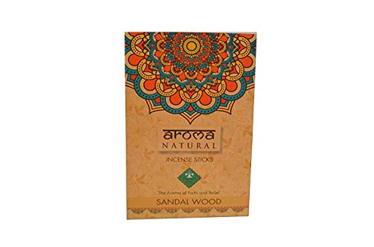 翻訳する抵抗力がある市場INSCENSE Stick AGARBATTI Sandal Wood 240 GMS AROMA NATURAL PRODUCTS