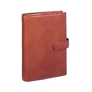 ダ・ヴィンチ スーパーロイスレザー 聖書サイズ システム手帳(リング24mm) DB505 C・ブラウン