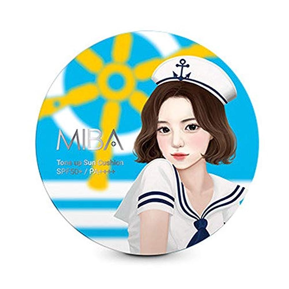 政令喉が渇いたアスレチック[MIBA] ミバ カラミントーンアップクッション 24g クッションタイプの日焼け止め SPF50+ PA++++ Korea cosmetic(torn up cushion 24g)