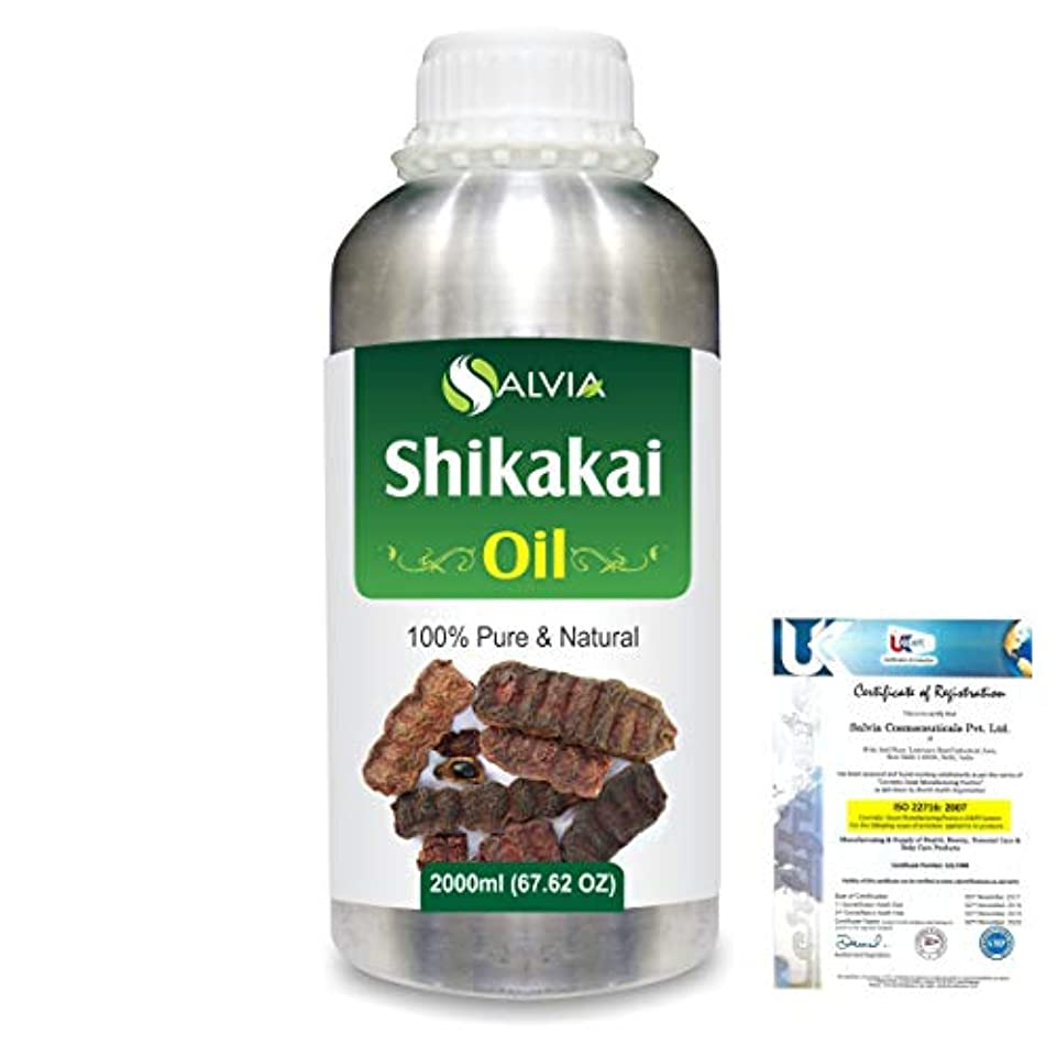 仲間バイソン絶壁Shikakai (Acacia concinna) 100% Natural Pure Oil 2000ml/67 fl.oz.