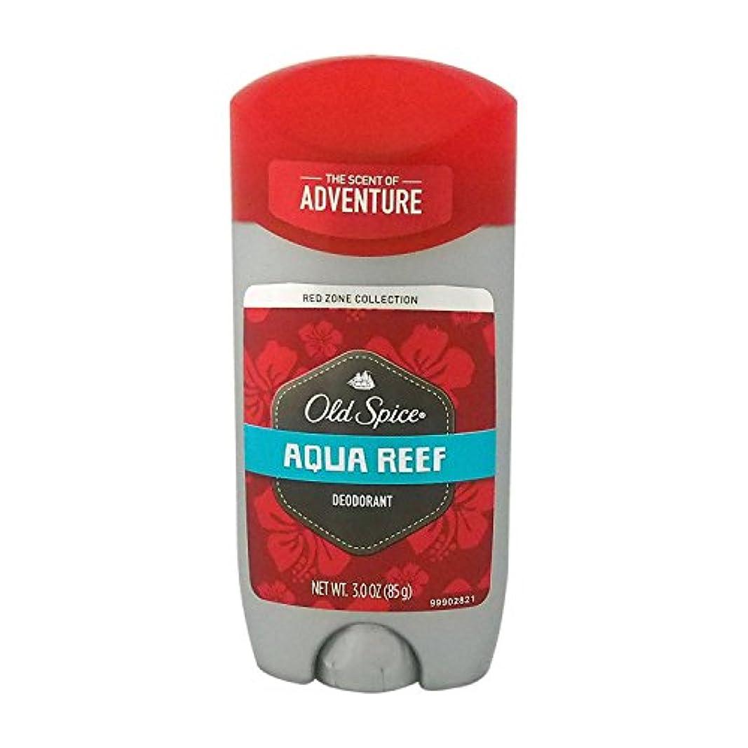 放つ時々時々パイントオールドスパイス(Old Spice) RED ZONE COLLECTION アクアリーフ デオドラント 85g[並行輸入品]