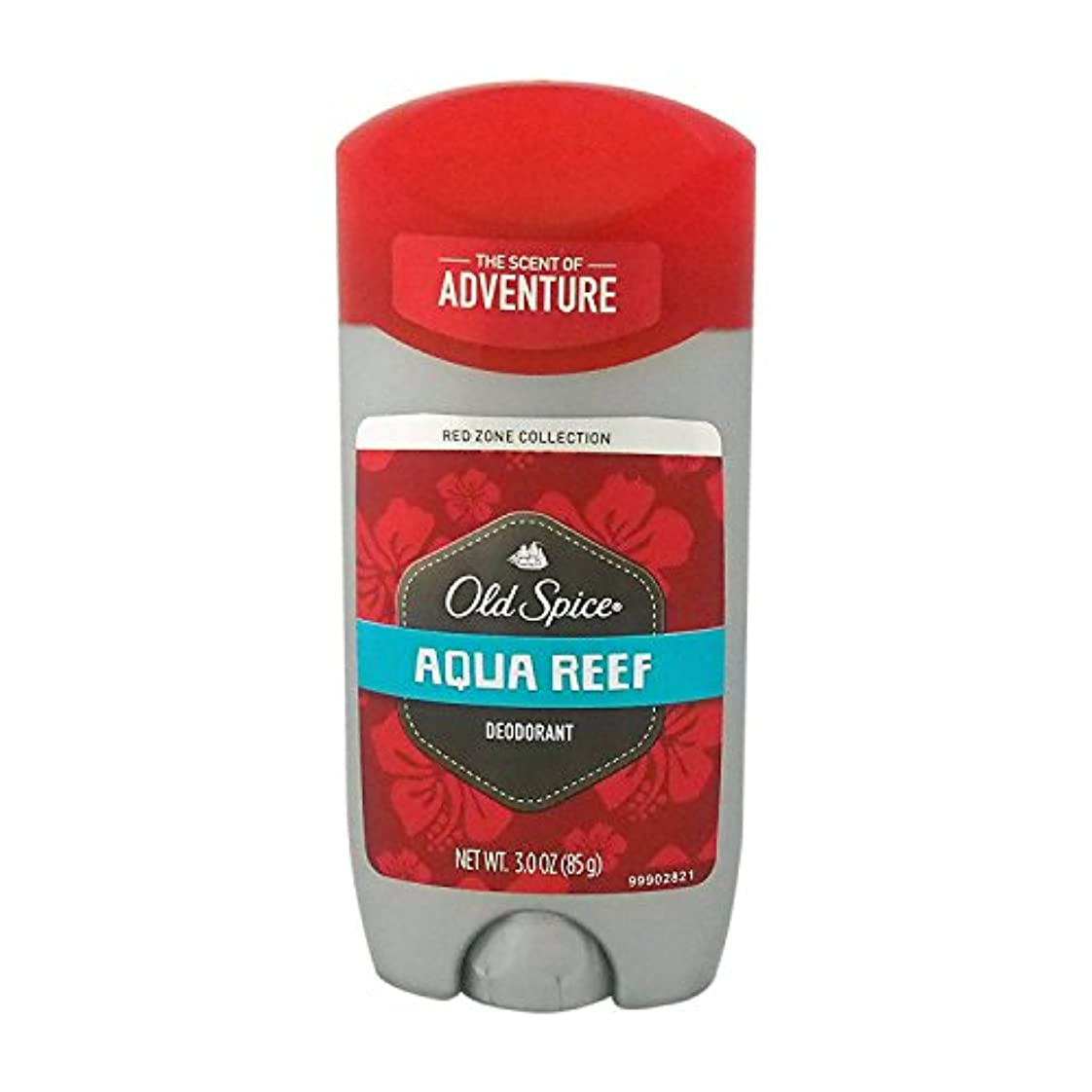 民族主義付添人ティッシュオールドスパイス(Old Spice) RED ZONE COLLECTION アクアリーフ デオドラント 85g[並行輸入品]