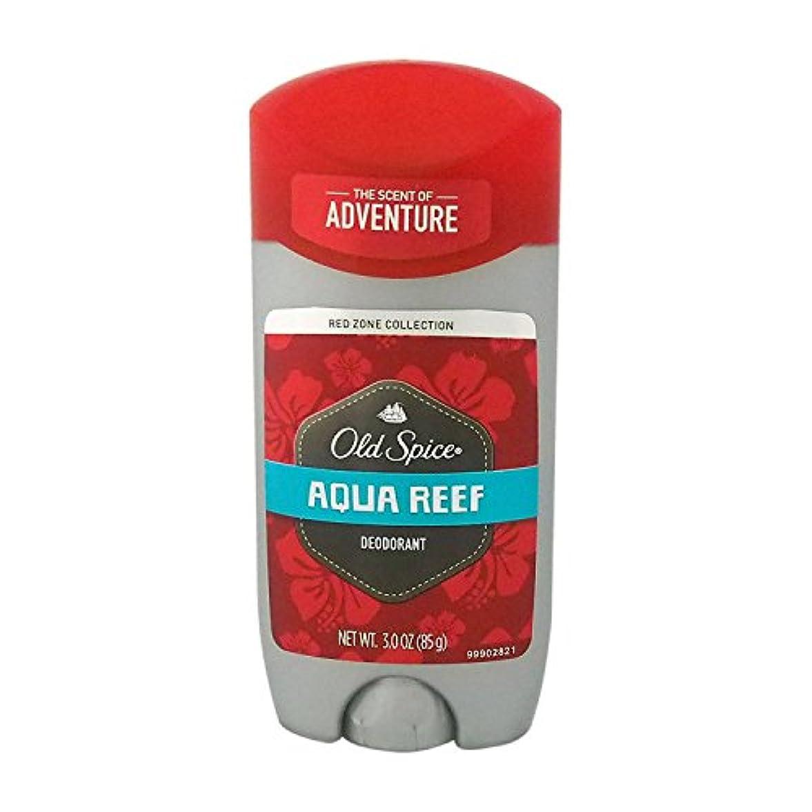 折るこれまで脊椎オールドスパイス(Old Spice) RED ZONE COLLECTION アクアリーフ デオドラント 85g[並行輸入品]