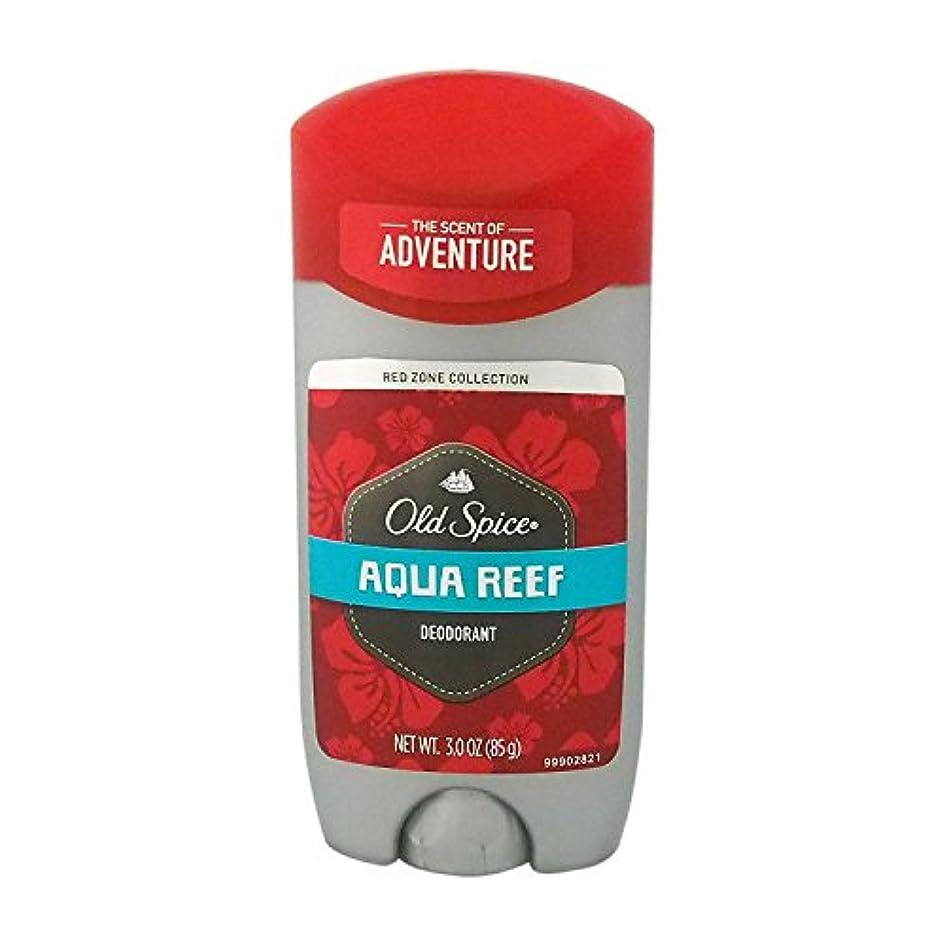 くびれた本土クリークオールドスパイス(Old Spice) RED ZONE COLLECTION アクアリーフ デオドラント 85g [並行輸入品]