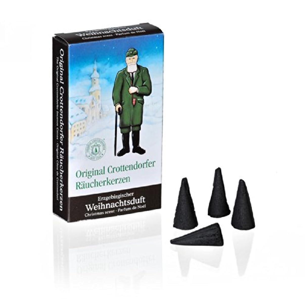 挽く交換可能設計図Crottendorfer 1011 オリジナルインセンスコーン 「オレマウンテンズクリスマス香り」24個 Mサイズ