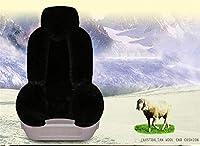 実用的 冬のウールのカーシートクッション - ほとんどの5人乗り車に適した快適で暖かいソフトカーシートカバー012 (色 : 012)