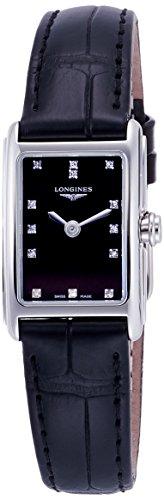 [ロンジン] 腕時計 ロンジン ドルチェヴィータ クォーツ L5.258.4.57.0 レディース 正規輸入品 ブラック