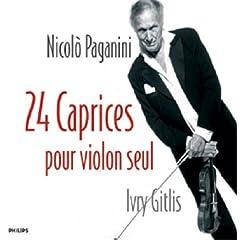 ギトリス演奏 パガニーニ《24のカプリッチョ》の商品写真