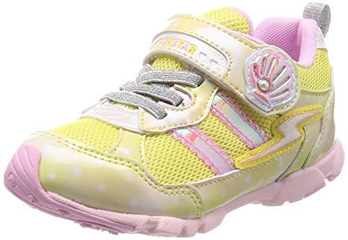 [スーパースター] 運動靴 通学履き 15cm~19cm 0.5cm対応 キッズ SS K895 イエロー 19 cm 2E