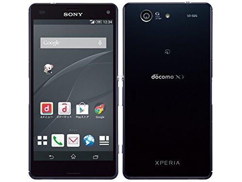 Xperia Z3 Compact SO-02G ドコモ/docomo BLACK/黒色