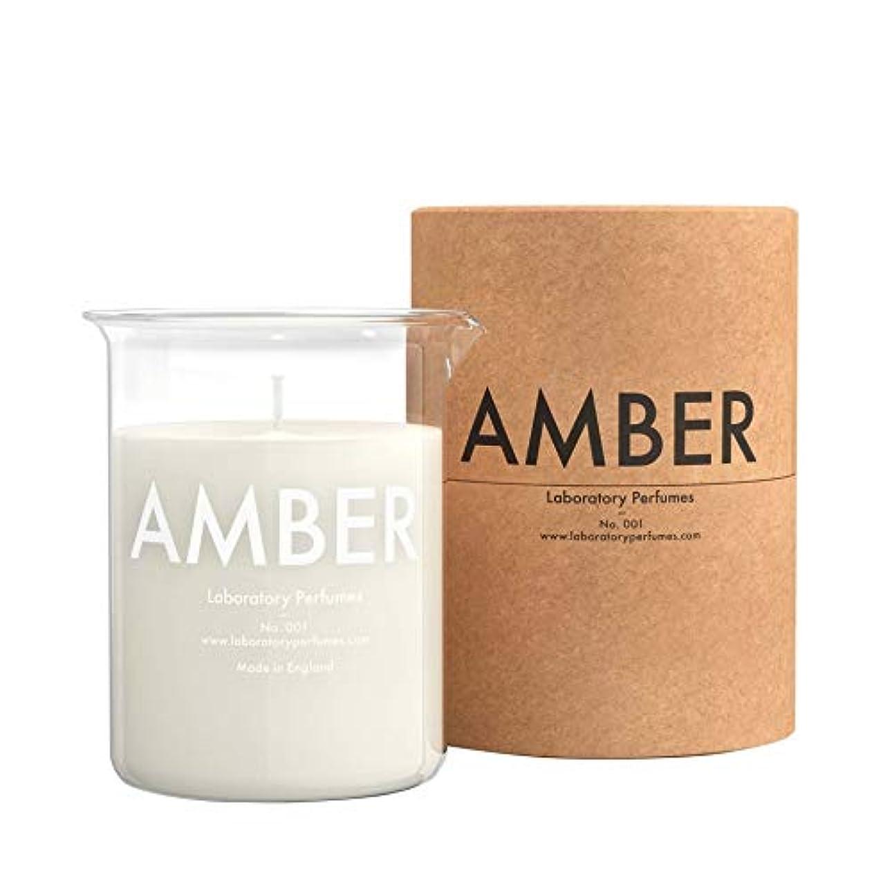 鋸歯状飛躍王位[Laboratory Perfumes ] 実験室の香水琥珀色のキャンドル - Laboratory Perfumes Amber Candle [並行輸入品]