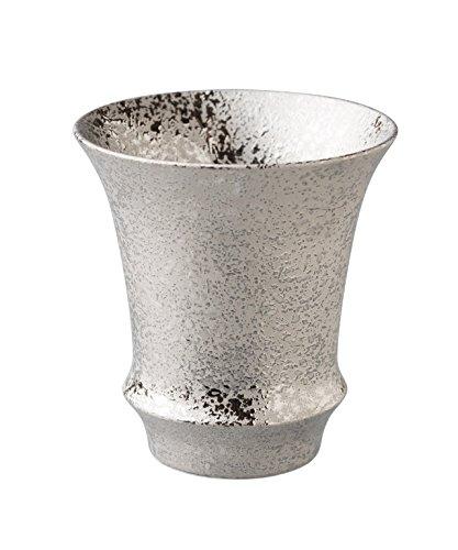 有田焼 匠の蔵 文山窯 金彩・銀彩 ペア(反)SAKE GLASS(日本酒グラス)