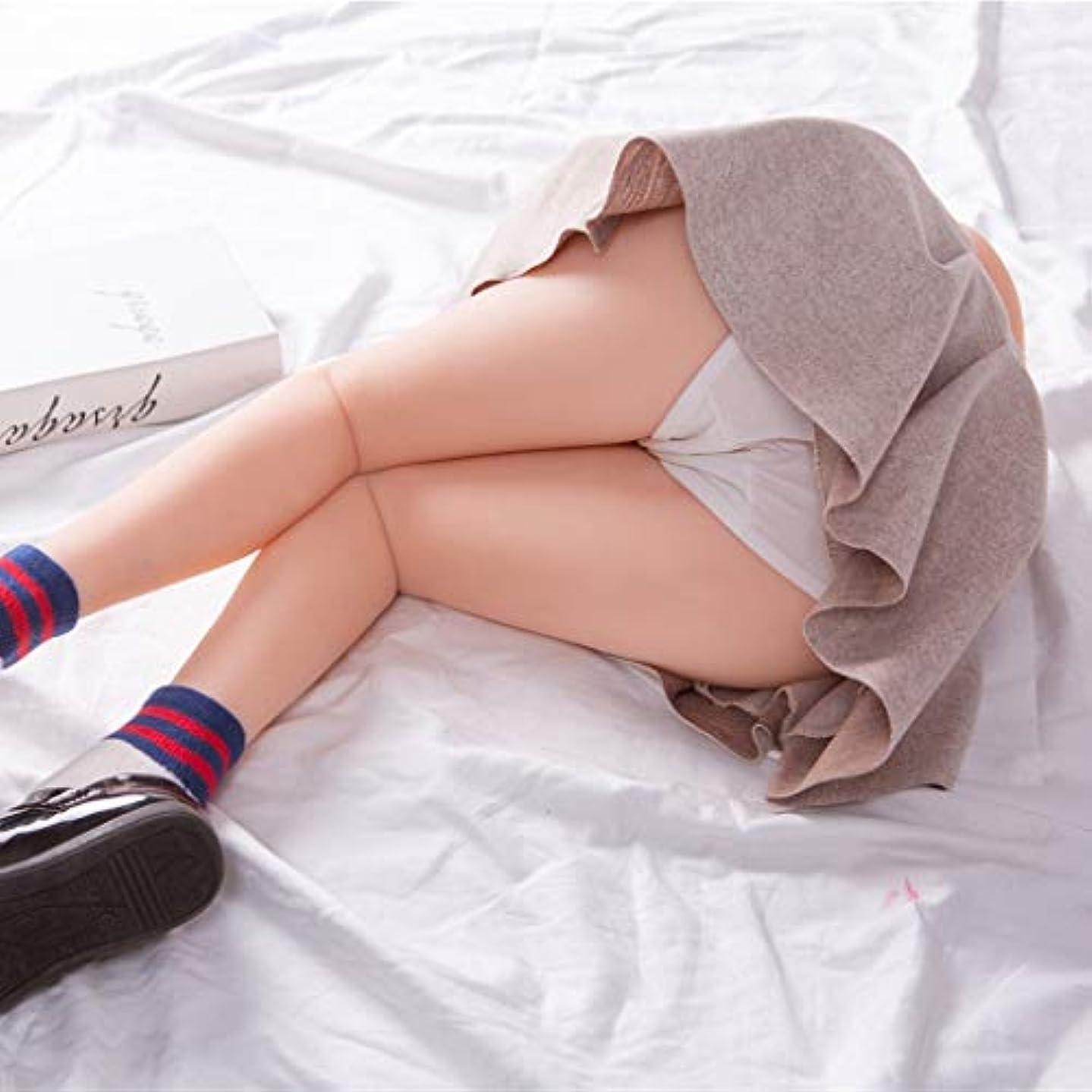 ずらす成長ファーザーファージュ2エントリカップ柔らかいシリコーン、リアルな柔らかいシリコーン人形下着メンズ男大人のおもちゃ、ベストギフト男性カップルと男性のための素晴らしい3Dのリアルな人工おもちゃ (Size : 60cm)