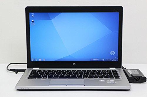 【中古】 hp EliteBook Folio 9470m Core i5 3437U 1.9GHz/8GB/500GB+32GB(SSDキャッシュ)/14W/FWXGA(1366x768)/Win7