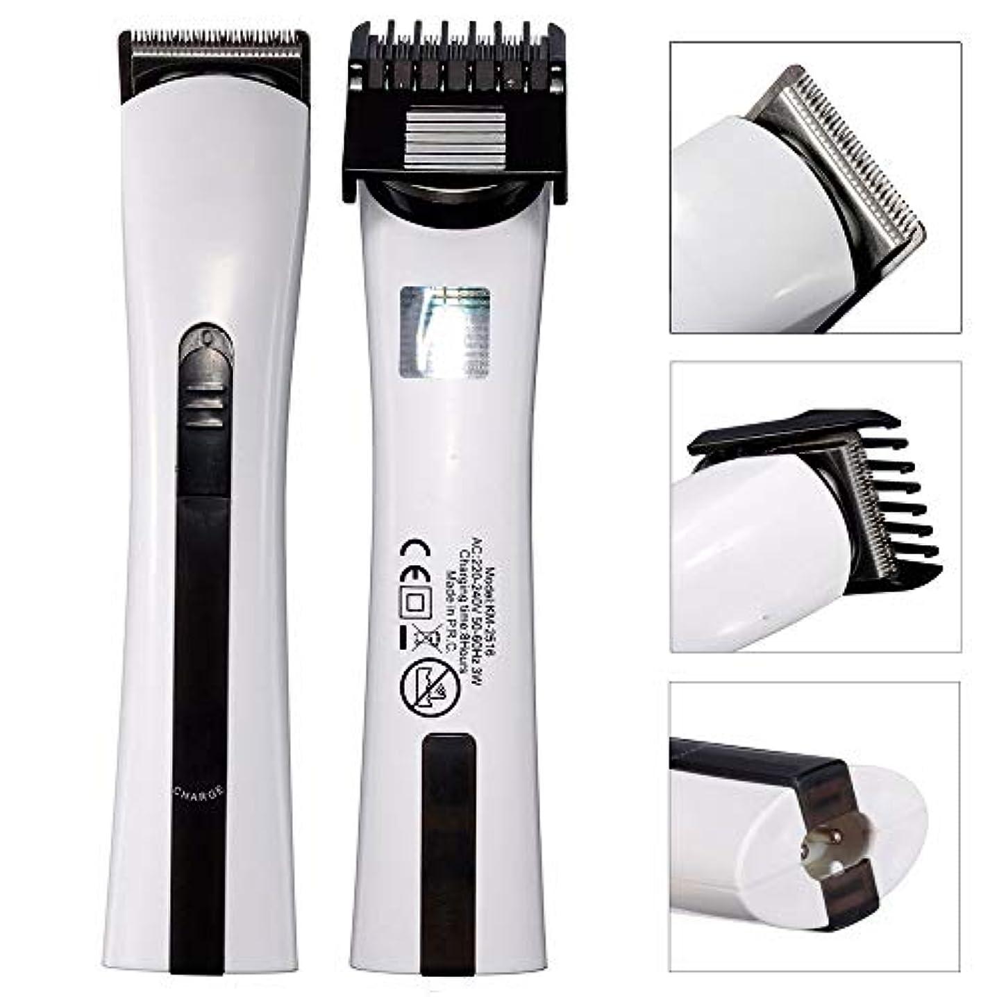バリカン、男性のヘアトリマー充電式電気シェーバーかみそりひげコードレスバリカンカットトリマーグルーミング散髪機