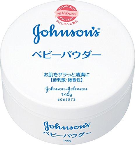 ジョンソン ベビーパウダー プラスチック容器 140g