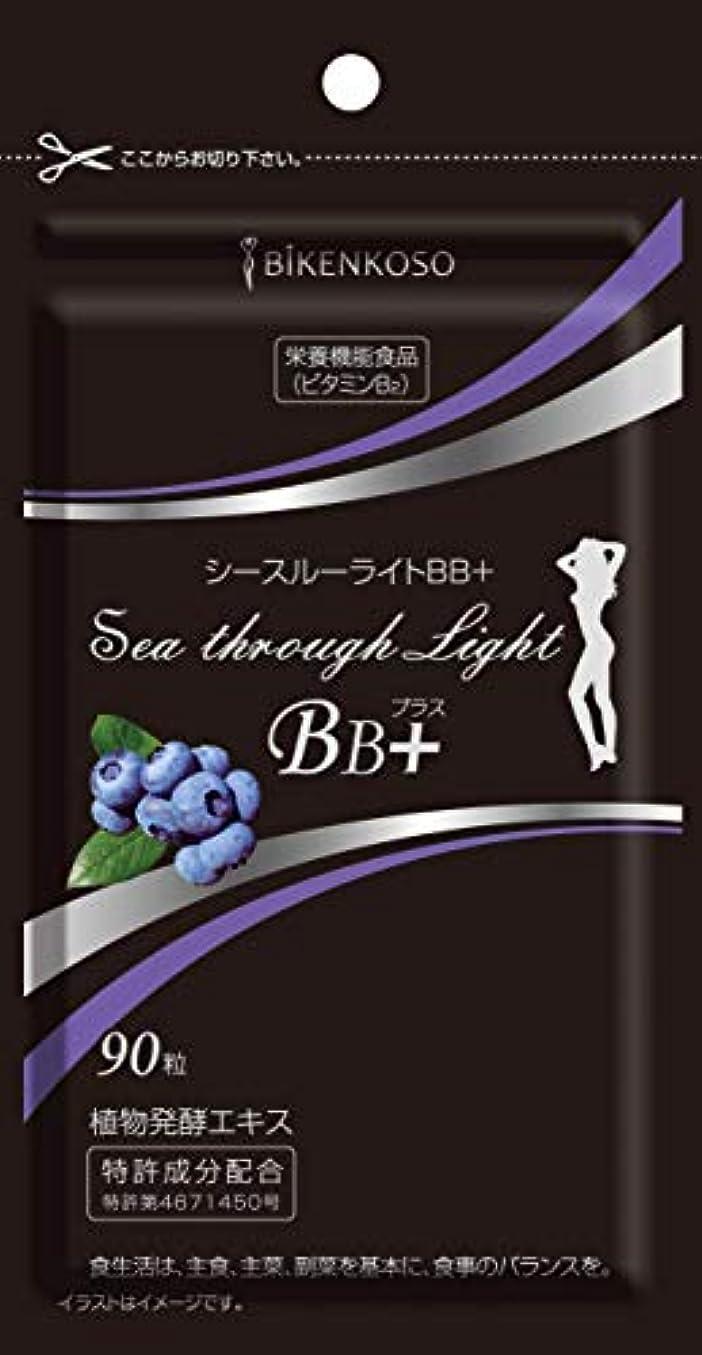 構造的コードハチシースルーライトBBプラス 乳酸菌 酵素サプリ 酵母サプリ 日本製 (90粒)