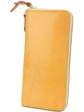[コルボ] CORBO. 長財布 1LD-0223 アコーディオン型 ラウンドファスナー フェイス ブライドルレザー face Bridle Leather ブラウン CO-1LD-0223-91